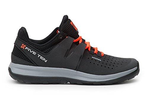 Five Ten Men's Access Approach Shoes, Carbon, 8 D US by Five Ten