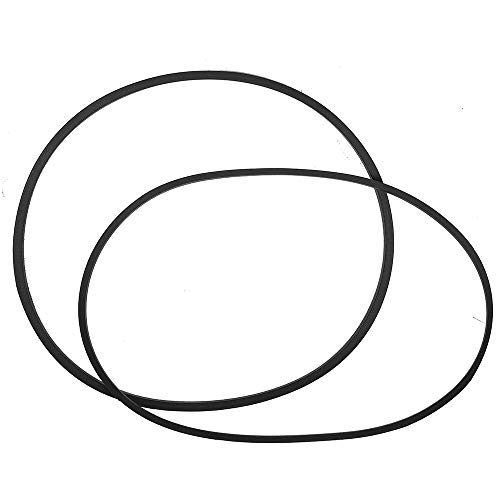 (12112425 Washer Drive Belt & Pump Belt Set for Whirlpool & Maytag Washing Machine, 211125 & 211124)
