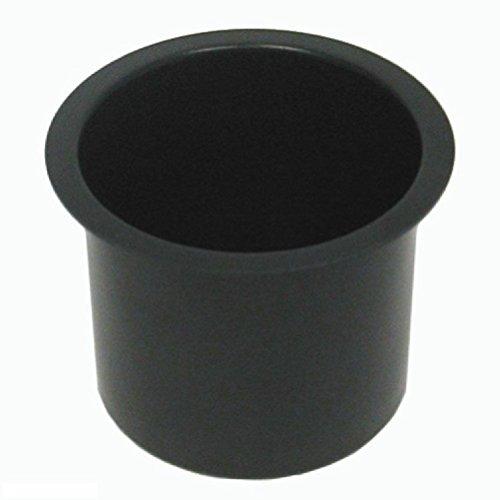 Jumbo Aluminum Black Poker Table Cup Holders Set of 10