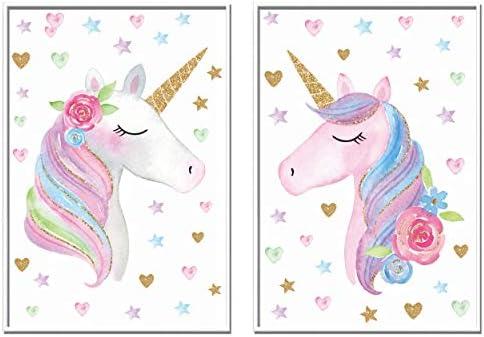 Unicorn Canvas Wall Art Picture Print