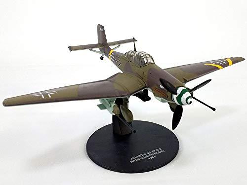 Dive 87 Bomber Ju Stuka - Junkers Ju-87 (Ju-87G) Stuka German Dive Bomber 1/72 Scale Diecast Metal Model