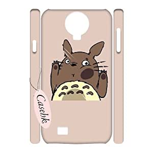 Casehk Unique Design Hard Shell Case for SamSung Galaxy S4 I9500, DIY TOTORO SamSung Galaxy S4 I9500 3D Case, TOTORO Custom Cell Phone Case