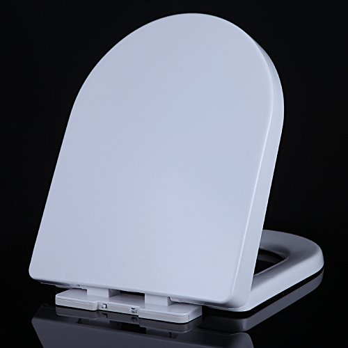 White U Type Pp Topseh General Toilet Cover U Thickening Pp Material Seat Cover Plate Slow Down Quiet Toilet Seat Co