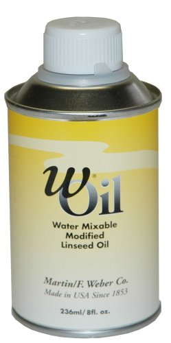 wOil 236ml Water Mixable Linseed Oil ()
