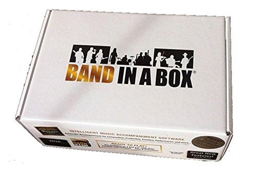 PG Music Band in a Box Ultra Plus MAC 2016