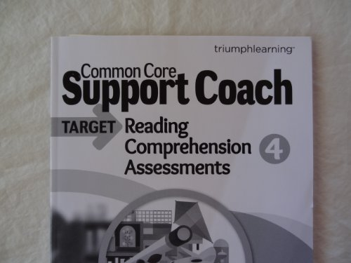 Common Core Support Coach, Target: Reading Comprehension, Assessments, Grade 4