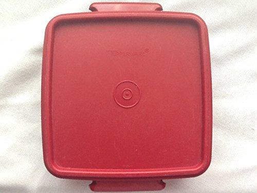 Vintage Tupperware Brick Red Sandwich/lunchmeat Keeper