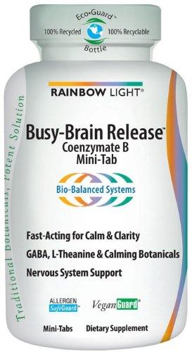 Rainbow Light cerveau Occupé presse, Coenzymate B, 60 Mini-Tabs