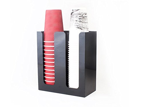 SMKF Coffee Cup&Lid Sleeve Dispenser Cup holder (double) ()