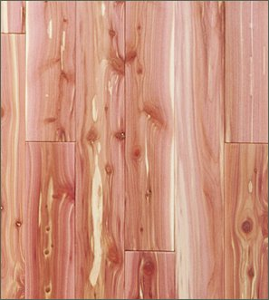Aromatic Cedar Closet Liner Planking