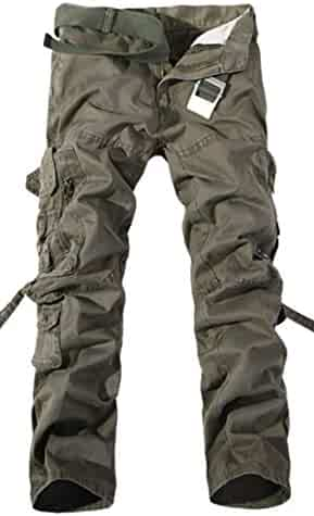 e879af5da94c S-Fly Men Classic Multi Pockets Straight Military Loose Cargo Pants