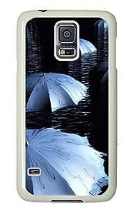 Samsung S5 cases custom made Flooded Umbrella PC White Custom Samsung Galaxy S5 Case Cover