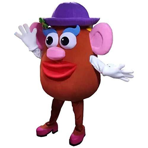 Mrs Potato Head Miss Toy Story Mascot Costume Party Character Birthday Halloween