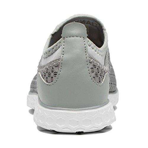 On Water Gray Slip Shoes Mesh Women's Tianyuqi CFHq11