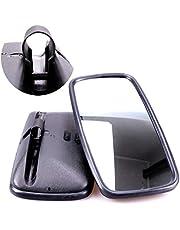 TRUCK DUCK® - Juego de 2 espejos retrovisores universales (365 x 190 mm,