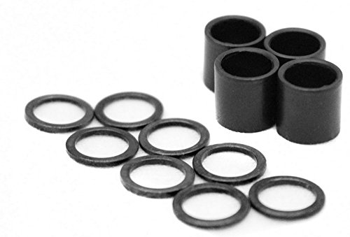 Skateboard Speed Kit: Bearing Spacers and Speed Washers