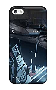 Flexible Tpu Back Case Cover For Iphone 5/5s - Call Of Duty: Advanced Warfare