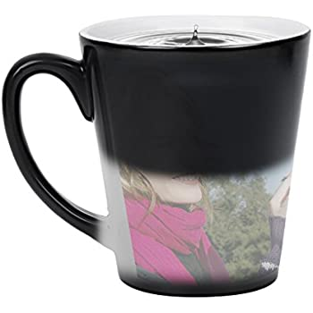 Extrêmement Amazon.com: Heat Sensitive Mug | Color Changing Coffee Mug | Funny  VV25