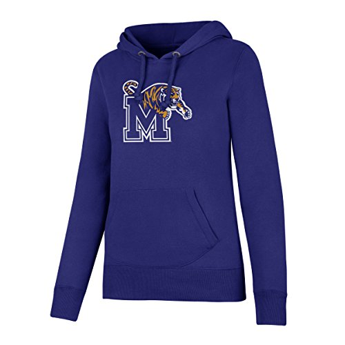 NCAA Memphis Tigers Women's Ots Fleece Hoodie, X-Large, Royal ()
