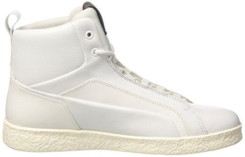 Bikkembergs Best 954, Sneaker a Collo Alto Donna Bianco (White)