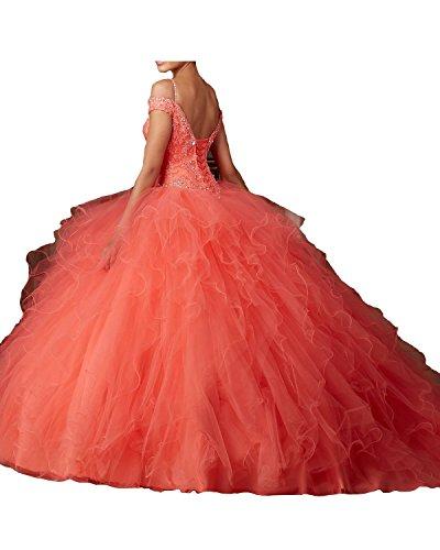 Promworld Damen ALinie Kleid Blau Blau Pink 4e7CNQs1sr ...