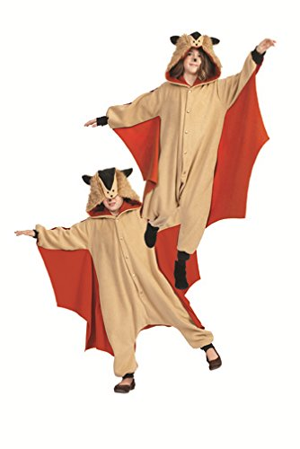 RG Costumes 'Funsies' Skippy The Flying Squirrel, Child Medium/Size 8-10