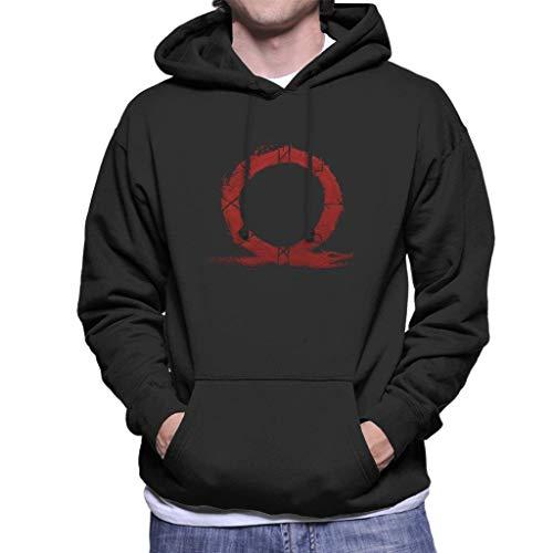 (God of War Omega Symbol Men's Hooded)