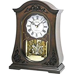 Rhythm USA WSM Chelsea Mantel Clock