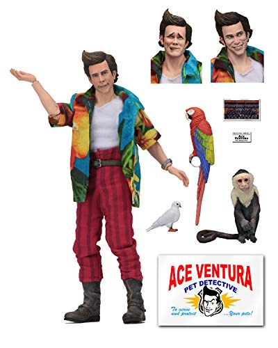 "NECA Ace Ventura: Pet Detective - 8"" Clothed Action Figure - Ace Ventura from NECA"