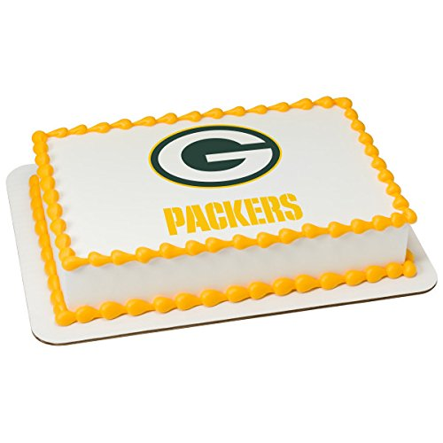NFL Green Bay Packers Licensed Edible Sheet Cake Topper #4580]()