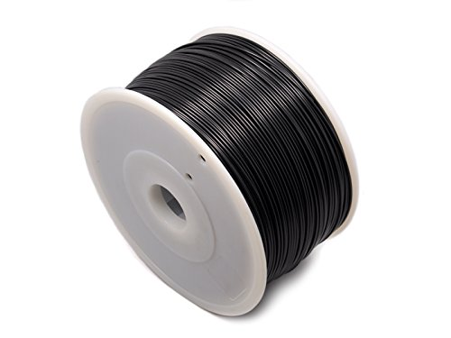 3D Printer Filament-Pla – Black Has Been Tested On Reprap, Makerbot, Mendel, Huxley Up! Printer, Weistek, Thing-O-Matic And Ultimaker.