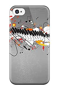 Anti-scratch And Shatterproof Vector Phone Case For Iphone 4/4s/ High Quality Tpu Case