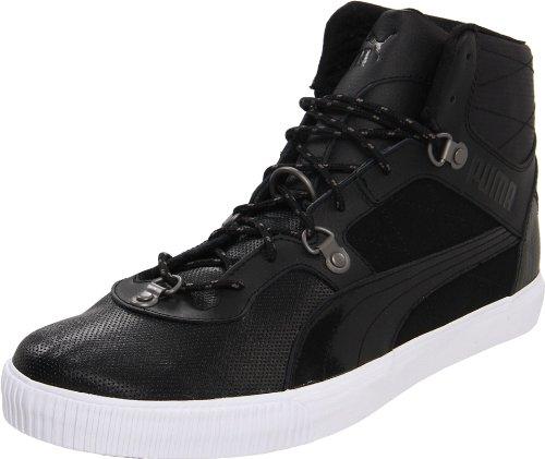Puma Heren Tipton L Lux Fashion Sneaker Zwart-wit