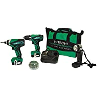 Deals on Hitachi 12-Volt Driver Drill Power Tool Combo Kit Refurb