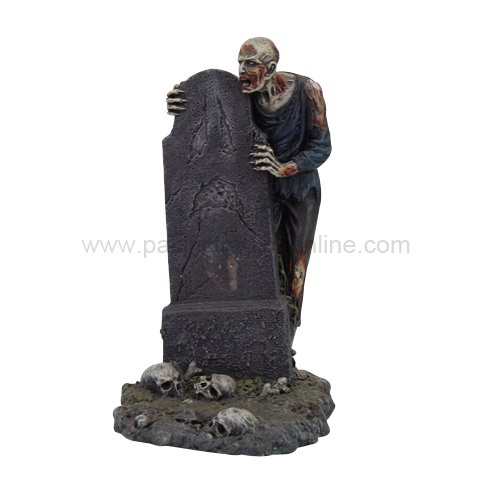 Pacific Trading 9697 Giftware Zombie with Grave Cellphone Holder]()