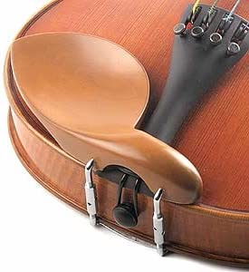 Hill All-Size Viola Chinrest Boxwood with Standard Bracket