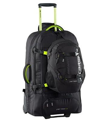 9c73c183b32b9d Caribee Fast Track 85 Wheeled Luggage (Black): Amazon.co.uk: Clothing