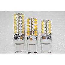 1pcs AC 220V 110V G9 LED 6W 7W 9W 10W LED Corn Light SMD 3014 2538 Super bright Replace 30W Halogen Lamp Led Light spotlight(Cole White/9w)
