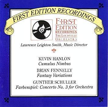 Cumulus Nimbus / Fantasy Variations / Farbenspiel: Concerto No. 3 for Orchestra