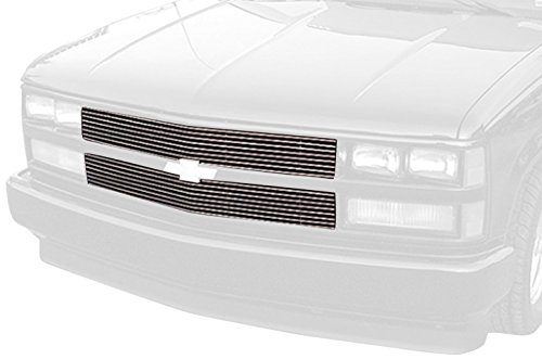 Chevrolet Blazer Carriage - Carriage Works 40012 Polished Aluminum Billet Bumper Grille Insert