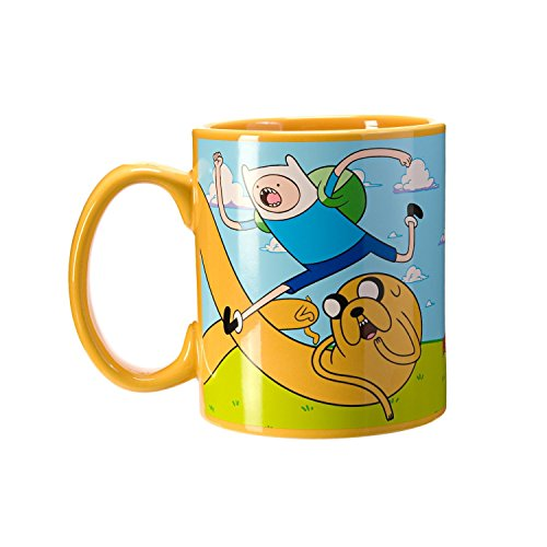 ADVENTURE TIME COFFEE MUG by JUST FUNKY