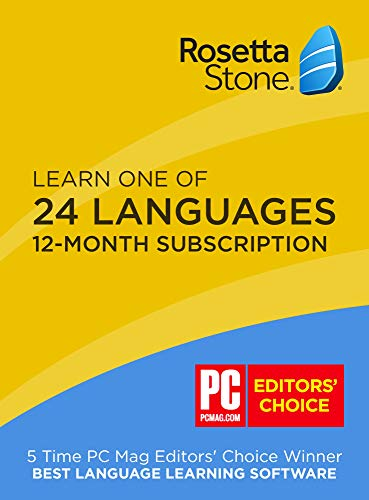Rosetta Stone Full Course Online Subscription (1-Year Subscription) Android|Mac|Windows|iOS ROS228800F112