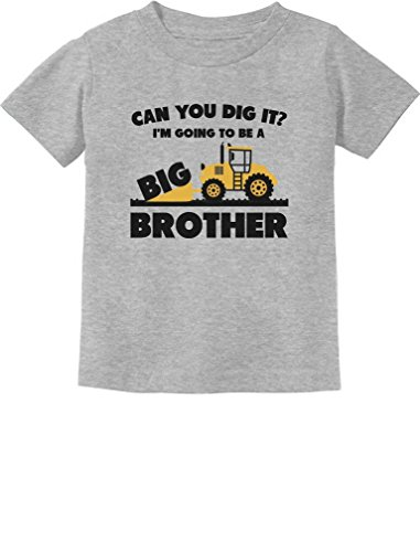 Going to Be A Big Brother Gift for Tractor Loving Boys Toddler/Infant Kids T-Shirt 24M -