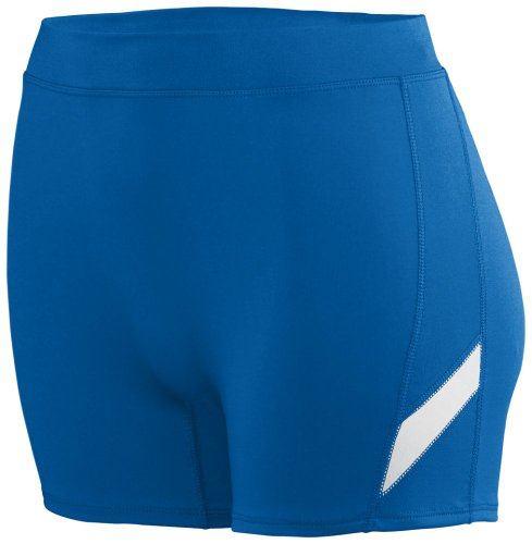 Augusta Sportswear Women's Stride Short L Royal/White
