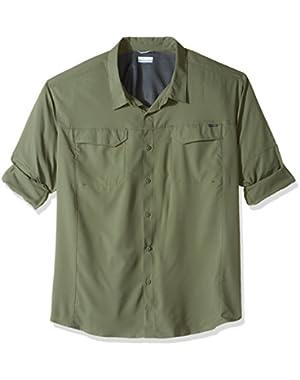 Men's Big-Tall Silver Ridge Lite Long Sleeve Shirt, Cypress, 4X