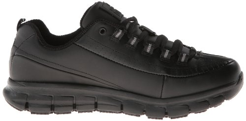 Skechers Work Sure Track-Trickel Donna US 8 Nero Scarpa da Lavoro