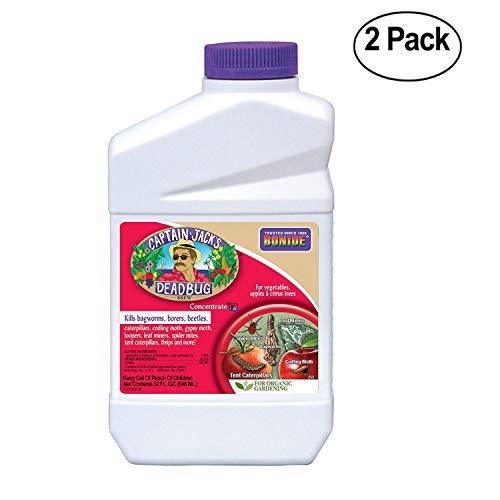 (Bonide Pest Repellents Captain Jack's Dead Bug Brew Insect Spray Concentrate, 1-Quart - Pack Of 2)