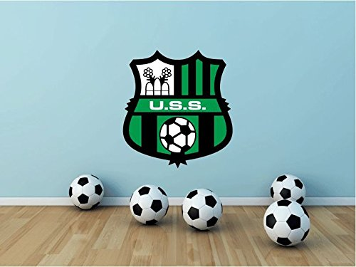US Sassuolo Calcio FC Italy Soccer Football Sport Art Wall Decor Sticker 23'' X 21'' by postteam