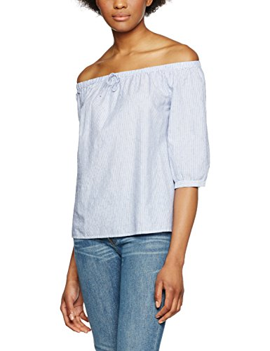 s.Oliver, Blusa para Mujer Weiß (White Structured Stripes 01H2)