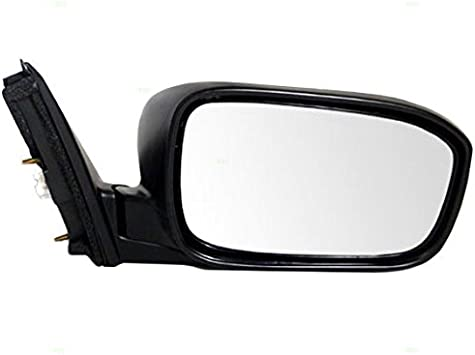 Passengers Power Side View Mirror Ready-to-Paint Replacement for Honda Coupe 76200-S82-K21ZH AutoAndArt